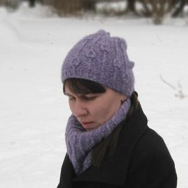 Flowerbud Hat and Cowl