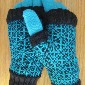 Mai Dai Fingerless Mitts