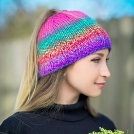 Get-Up-and-Go Messy Bun Hat