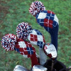 Heirloom Argyle Golf Cover