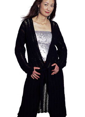 Long & Lacy Coat Pattern