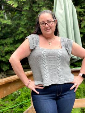 Raspberry Ribs Jacket Pattern