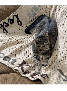 The Cat Afghan Pattern