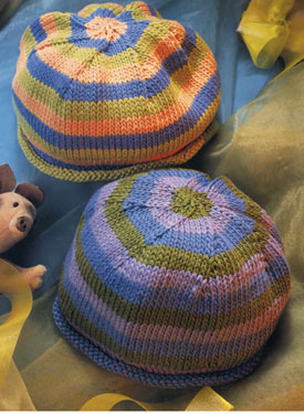 Rolled-Edge Hat Pattern