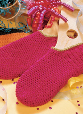Crocheted Footies Pattern