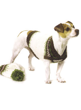 Feral Fair Isles Dog Coat Pattern