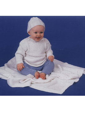 Baby Guernsey Set Pattern