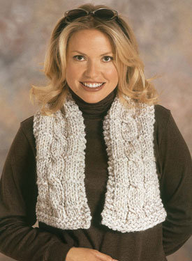 Cabled Scarf Pattern