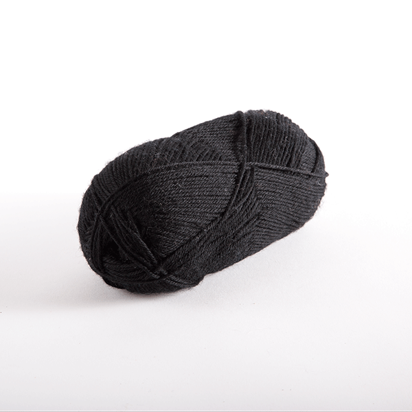 Black in Stroll Sock Yarn