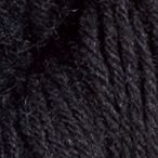 Black in Gloss Fingering Yarn
