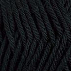 Black in Swish Worsted Yarn