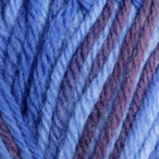 Blue Violet Multi in Stroll Multi Sock Yarn