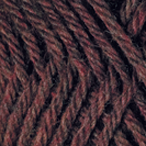 Merlot Heather in Swish Worsted Yarn