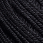 Black in Comfy Sport Yarn