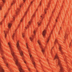 Orange in Wool of the Andes Worsted Yarn