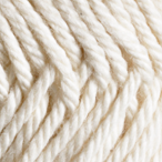 Marshmallow in Simply Cotton Organic Worsted Yarn