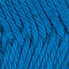 French Blue in Shine Sport Yarn