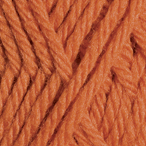 Orange in Swish Worsted Yarn