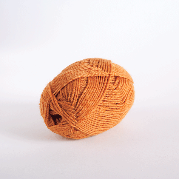 Pumpkin in Wool of the Andes Sport Yarn