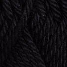 Black in Shine Worsted Yarn