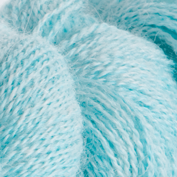Wonderland Heather in Alpaca Cloud Lace Yarn