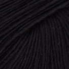 Black in Chroma Fingering Sock Yarn