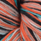 Retro in Stroll Hand Painted Sock Yarn