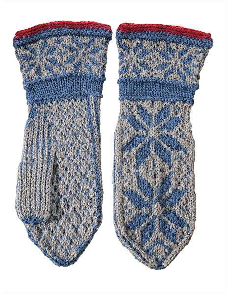 Norwegian Mittens Pattern