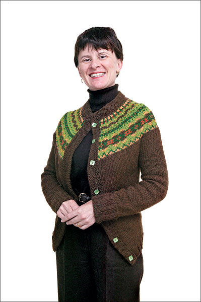 Kelley's Fair Isle Cardigan Pattern