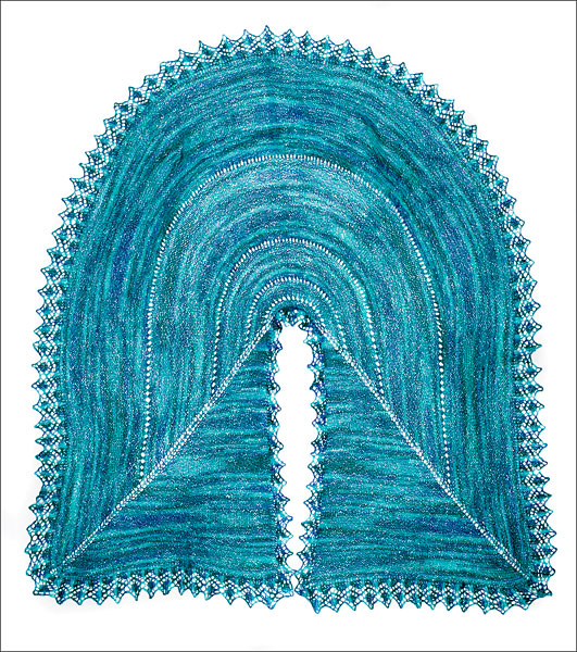 Pie Are Square Shawl Pattern