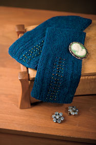 Fingerless Garter Mitts
