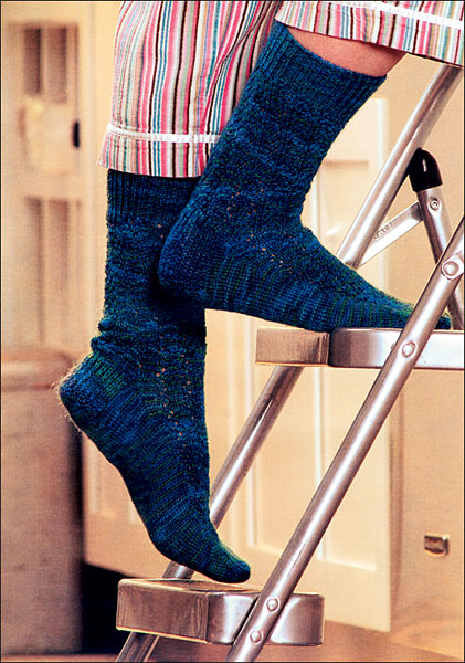 Pattern For Knitting Two Socks At A Time : 2-at-a-time Socks from KnitPicks.com Knitting by Melissa Morgan-Oakes On Sale...