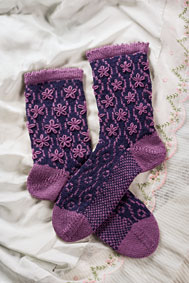 Longbourn Socks Pattern