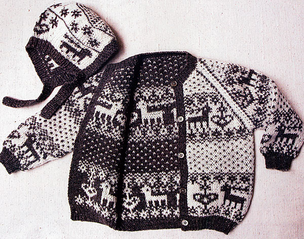 Double Knitting - Reversible Two-Color Designs from ...