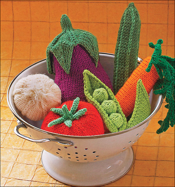 Knitting Pattern For Vegetables : Amigurumi Knits from KnitPicks.com Knitting by Hansi Singh