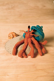 Hermit Crab Toy Pattern