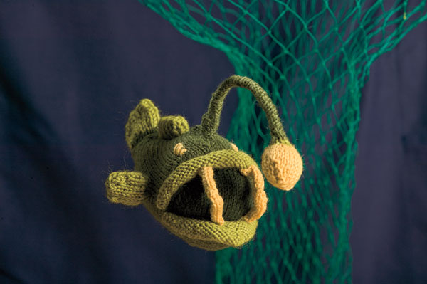 Black-Devil Anglerfish Toy Pattern
