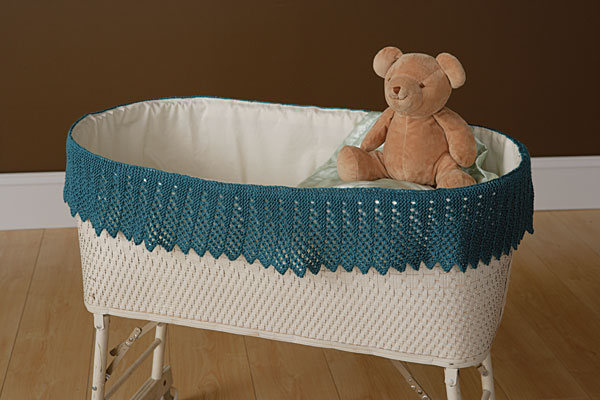 A Kinder Gentler Moses Basket Lace Pattern