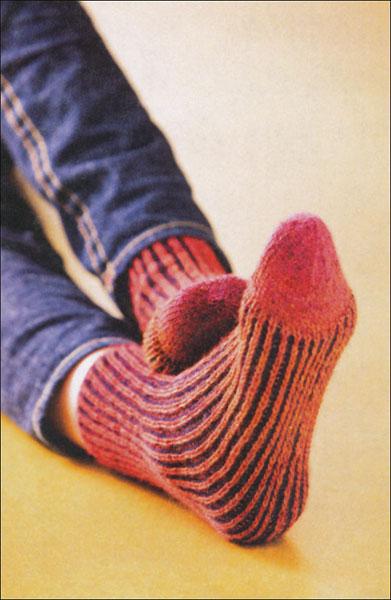 Knitting Brioche Stitch Socks 14 Easy Patterns For Tube Socks : Knitting Brioche-Stitch Socks from KnitPicks.com Knitting by Barbara Sander O...