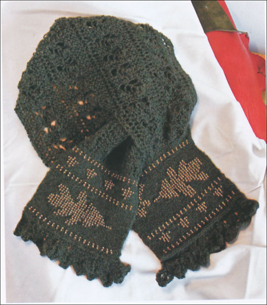 Knitting Scarves From Around The World : Knitting scarves from around the world knitpicks
