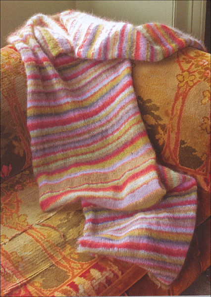 Kaffe Fassett Knitting Kits : Knitting with the color guys from knitpicks
