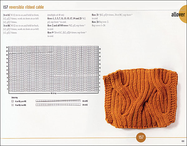 Vogue Knitting Stitchionary, Volume 2: Cables (Softcover) from KnitPicks.com ...