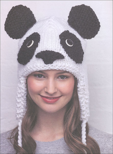 Free Knitting Patterns For Animal Hats : Animal Hats from KnitPicks.com Knitting by Vanessa Mooncie On Sale