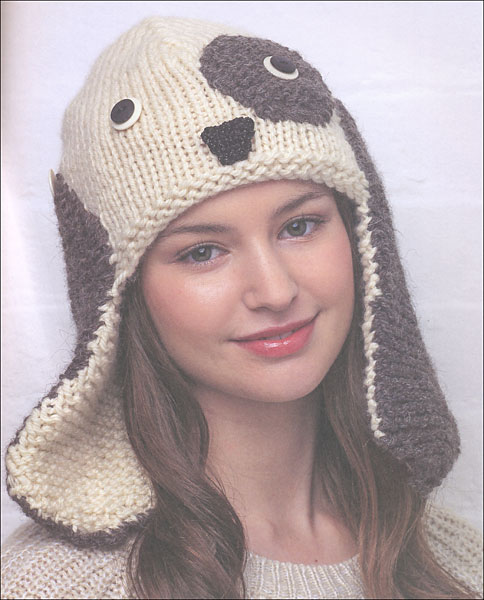Knitting Patterns Hats Animals : Animal Hats from KnitPicks.com Knitting by Vanessa Mooncie