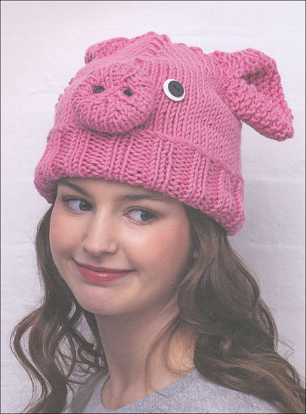 Free Knitting Patterns For Animal Hats : Animal Hats from KnitPicks.com Knitting by Vanessa Mooncie