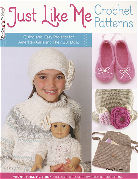 Just Like Me Crochet Patterns