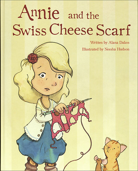 Annie and the Swiss Cheese Scarf