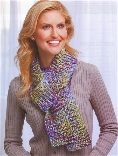 Free Knitting Patterns For Skinny Scarves : Skinny Scarves from KnitPicks.com Knitting by Leisure Arts On Sale