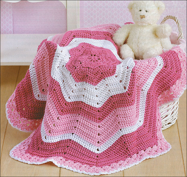 Blanket Knitting Pattern Books : Baby Afghans from KnitPicks.com Knitting by Leisure Arts