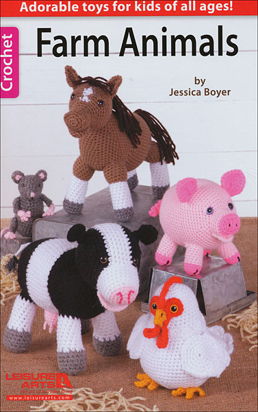 Farm Animals from KnitPicks.com Knitting by Melissa Leapman On Sale